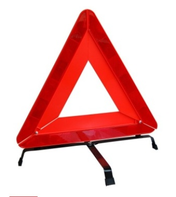 Reflective tripod parking automobile triangle warning sign warning sign safety stop sign