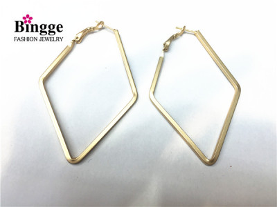European and American fashion accessories simple and easy to wear the earrings.