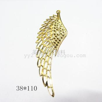 38*110 hollow flower wings tin crafts accessories