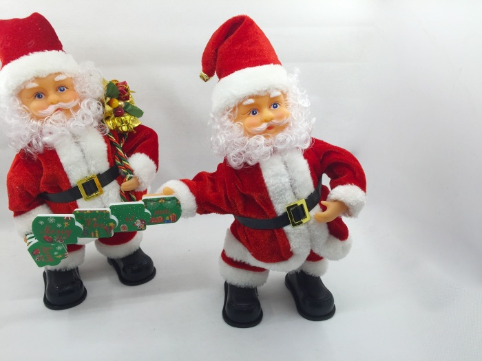 fb03984f8e5bf Supply Factory direct red velvet material electric Santa Claus ...