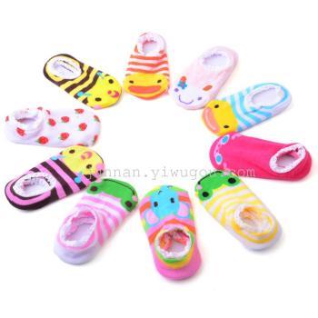 Chun Nan women lace lace socks socks baby socks socks toddler anti-skid floor socks