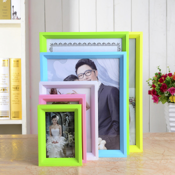 PVC plastic photo frames
