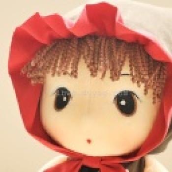 正版童话菲儿布娃娃毛绒玩具公仔布艺洋娃娃儿童节生日礼物女生