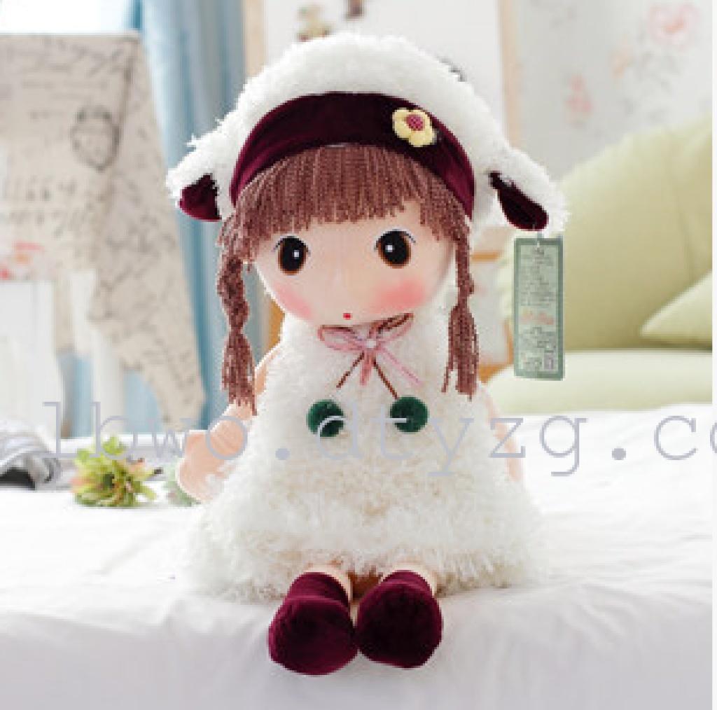 正版百变菲儿公仔女孩布偶毛绒玩具洋娃娃玩偶闺蜜_店