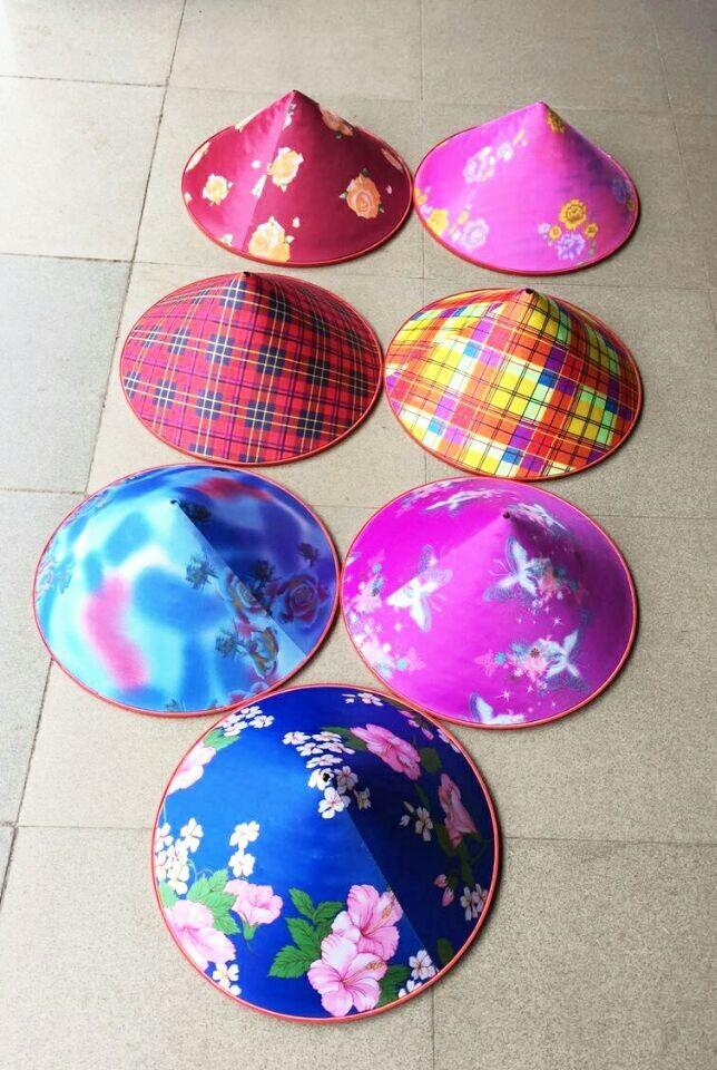 海南省ベトナム キャップで純粋な手織りの帽子帽子キャップ帽子手編み帽子を葉します。