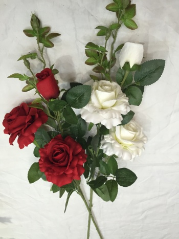 Artificial flowers flowers Roses roses home décor of flowers,
