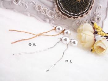 Korea dual rear-mounted before and after Pearl Earrings Lady earrings are hypoallergenic ear Stud Earrings jewelry