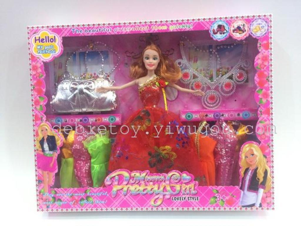 芭比娃娃礼盒套装