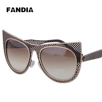 ladies aviator sunglasses  ladies fashion metal