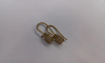 Shaped ear hook ear hook ear hook cast copper ornament fittings metal fittings for arts and crafts accessories
