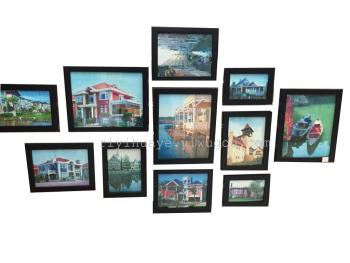 Photo wall, walls, decorative picture frames, European classical painting