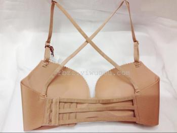 2015 summer ladies sexy hot beauty back strap bra nightclub gathering built-in Pearl essential oil kits