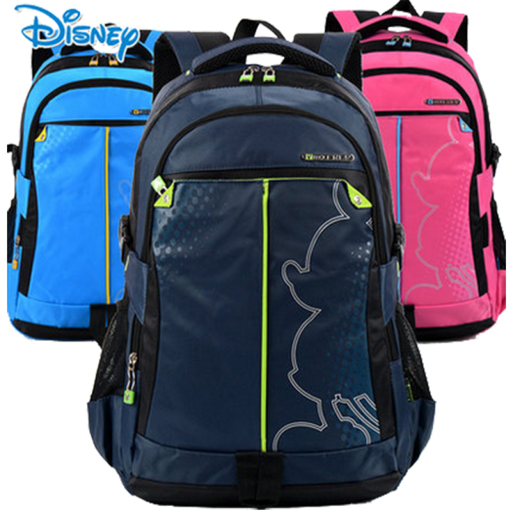 Disney Book Bag Backpack Tourism And Leisure Leasen Rucksack Boys S Mickey Bags