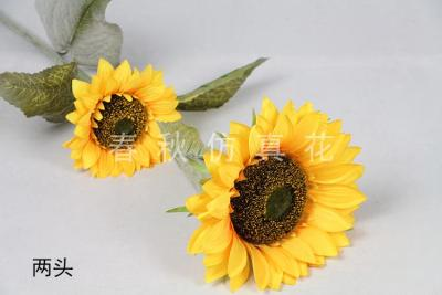 Simulation of artificial flowers sunflower sunflower home decor artificial flower corsage