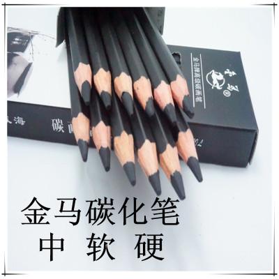 Carbon pencil sketch pen high carbon-neutral wood pens 12 Pack art pencils