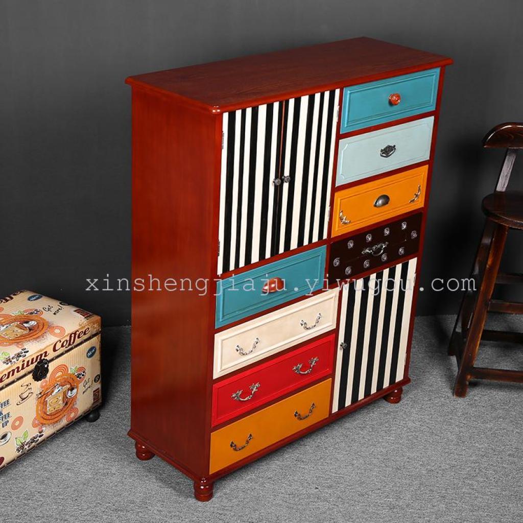 欧式怀旧风格创意组合柜/多功能收纳柜