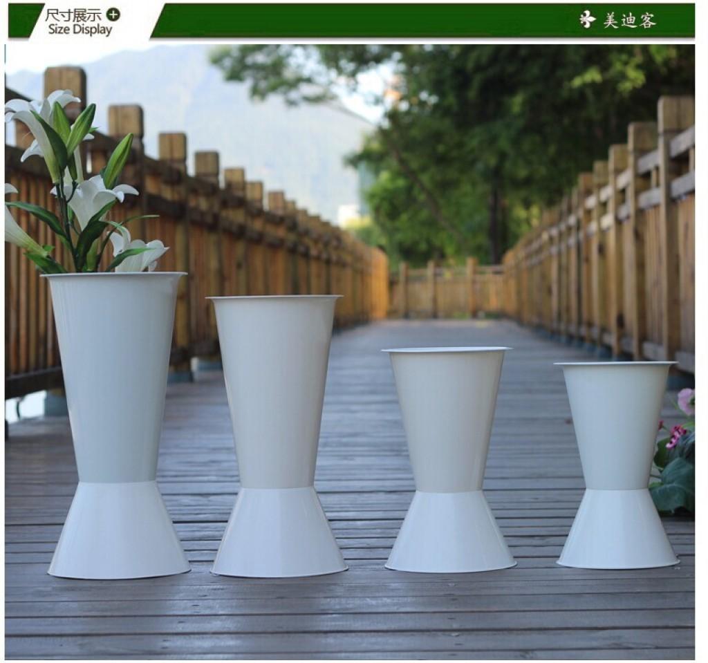 塑料桶 装饰花器花筒瓶摆设包装材料花店用品