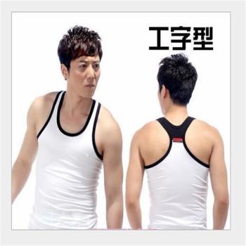 Men's cotton sport mixed colors wholesale Lycra vest bodybuilding vest vest at the end of men's jeans vest