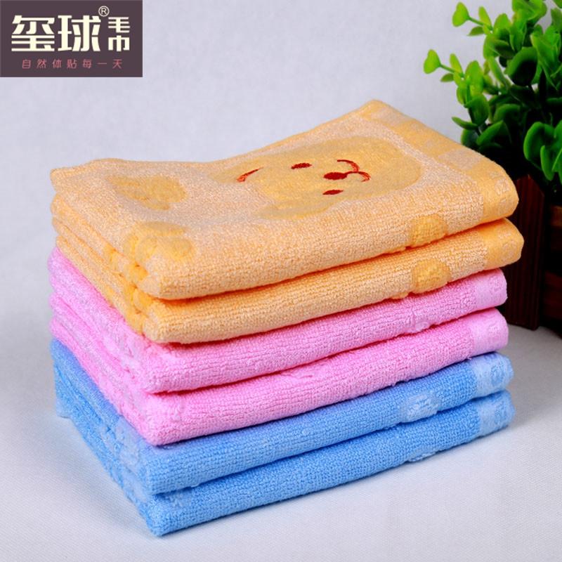 無料の漫画の子供たちのスカーフのスーパー柔らかい綿のタオル竹繊維の小さなタオルツイスト