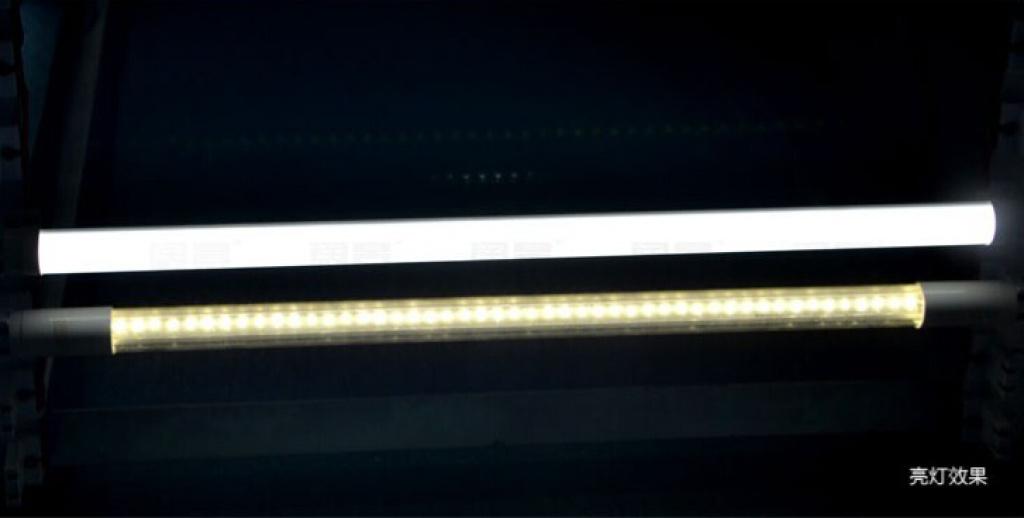 led灯t8灯管led日光灯家用灯管暗槽灯条格栅灯管
