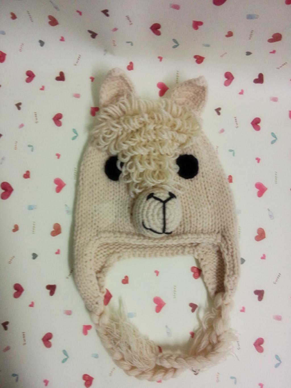 欧美风可爱卡通动物造型帽宝宝超萌帽 流苏羊羊帽子 外贸定做