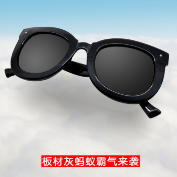 Grey Ant break through the metal frame, pushing the plate thick frame sunglasses YS2321