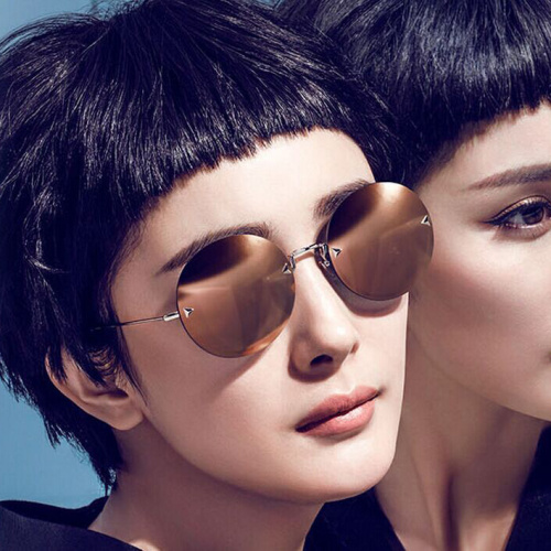 Yang and the drainage of your trendy circular colored membrane sunglasses 2061
