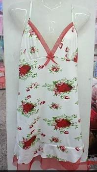 Sexy pajamas nightdress milk silk