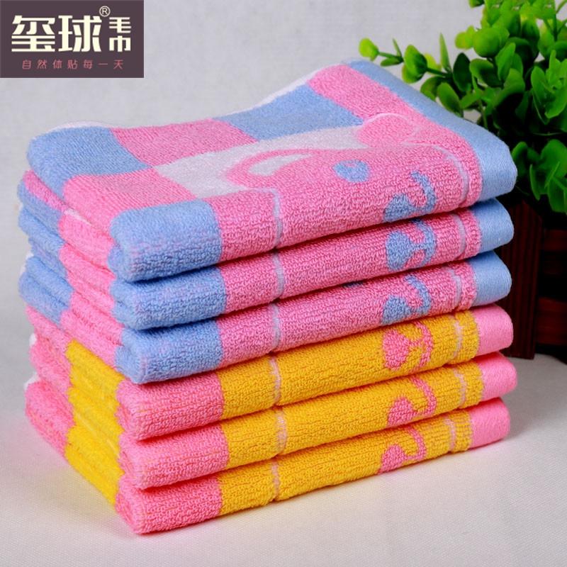 Чистой хлопчатобумажной пряжи полотенце мальчик моды мягкая Медведь полотенце мальчик мультфильм дети сталкиваются полотенце
