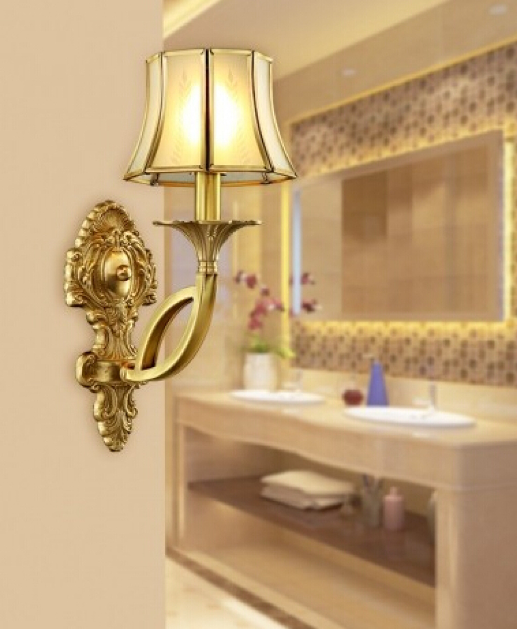 Supply European-style Wall lamp garden garden lamps led waterproof light retro Wall lamp lamps-