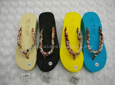 New ladies flip flops Beach women casual chic slippers