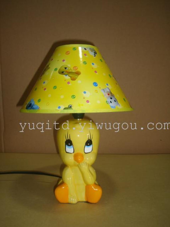 儿童台灯 卡通台灯 陶瓷台灯 动物台灯 护眼台灯 学习台灯