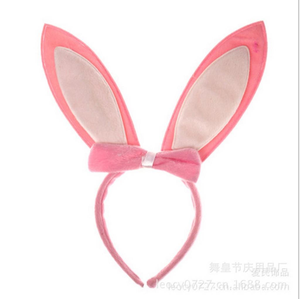 可爱小公主狂欢节头扣兔耳朵头箍
