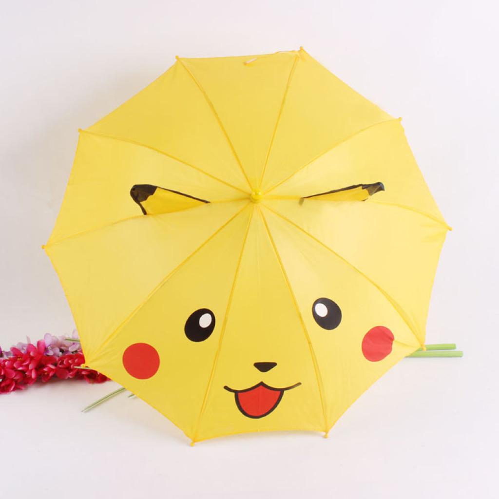 卡通儿童雨伞 可爱卡皮丘耳朵伞 定制伞
