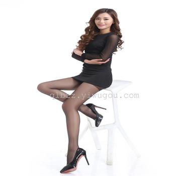 Dropping resistance silk pantyhose fine ultra thin female wear silk stockings do not take off silk base socks