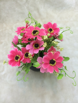 2015 artificial flowers potted chrysanthemums potted stylish furnishings of the sun flower bonsai