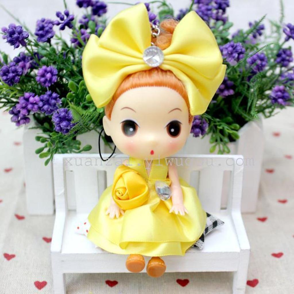 公主迷糊娃娃芭比娃娃手机包包挂件