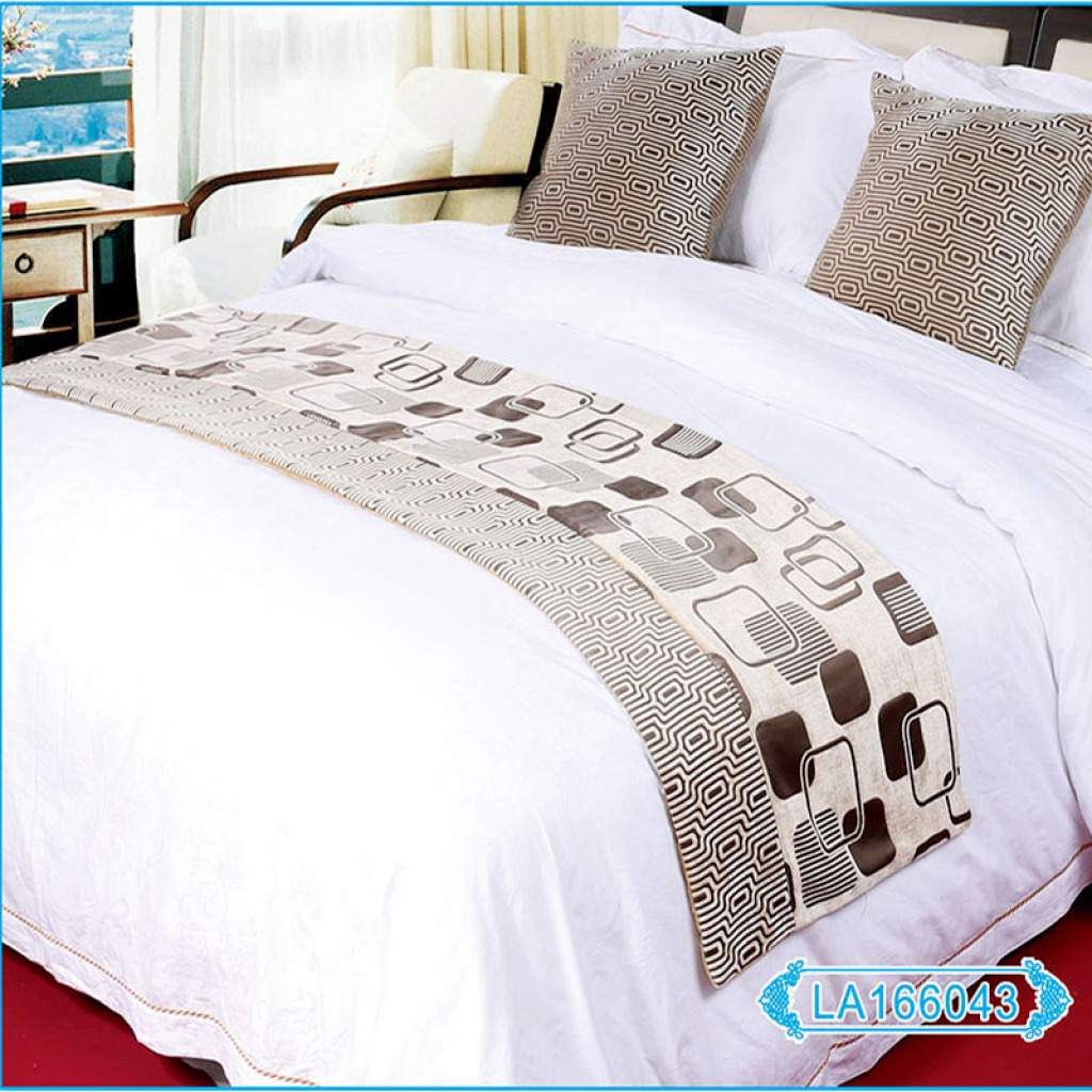 Supply Luxury Five Star Hotel Hotel Bed Linen Bed Cover