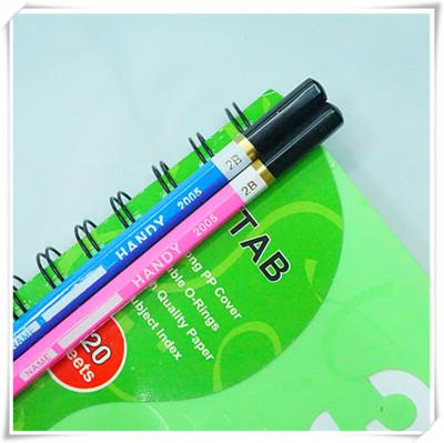 2 fluorescent test private b a pencil pencils school supplies