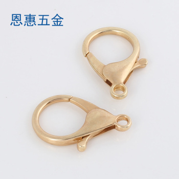 necklace chain clasp connector buckle bracelet clasp foot DIY fish tail lobster clasp buckle plating lock buttons