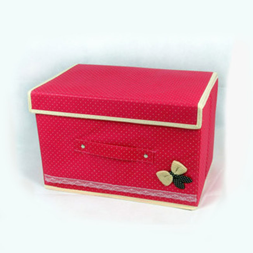 Han Shibo Bow Storage Box Storage Box Taobao Explosions Clothing Storage Box