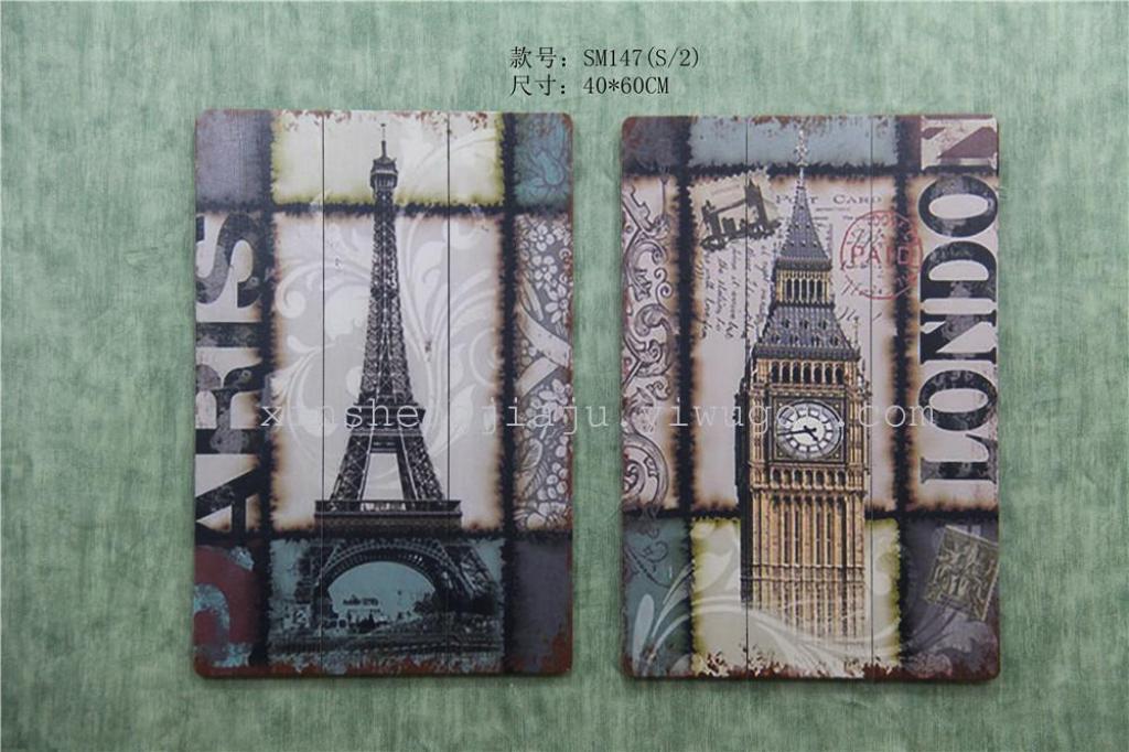 欧式古典艺术木板画/客厅挂画/墙壁装饰画