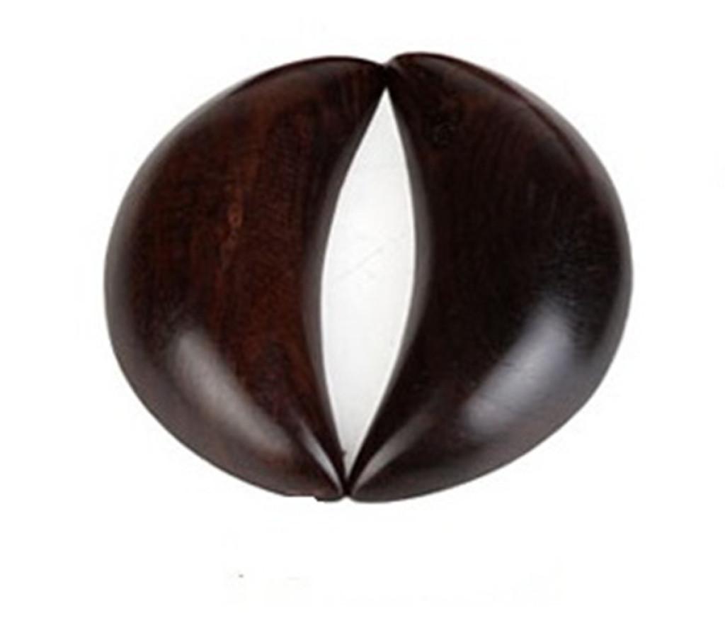 黑檀木红楠木圣杯卦 佛教用品