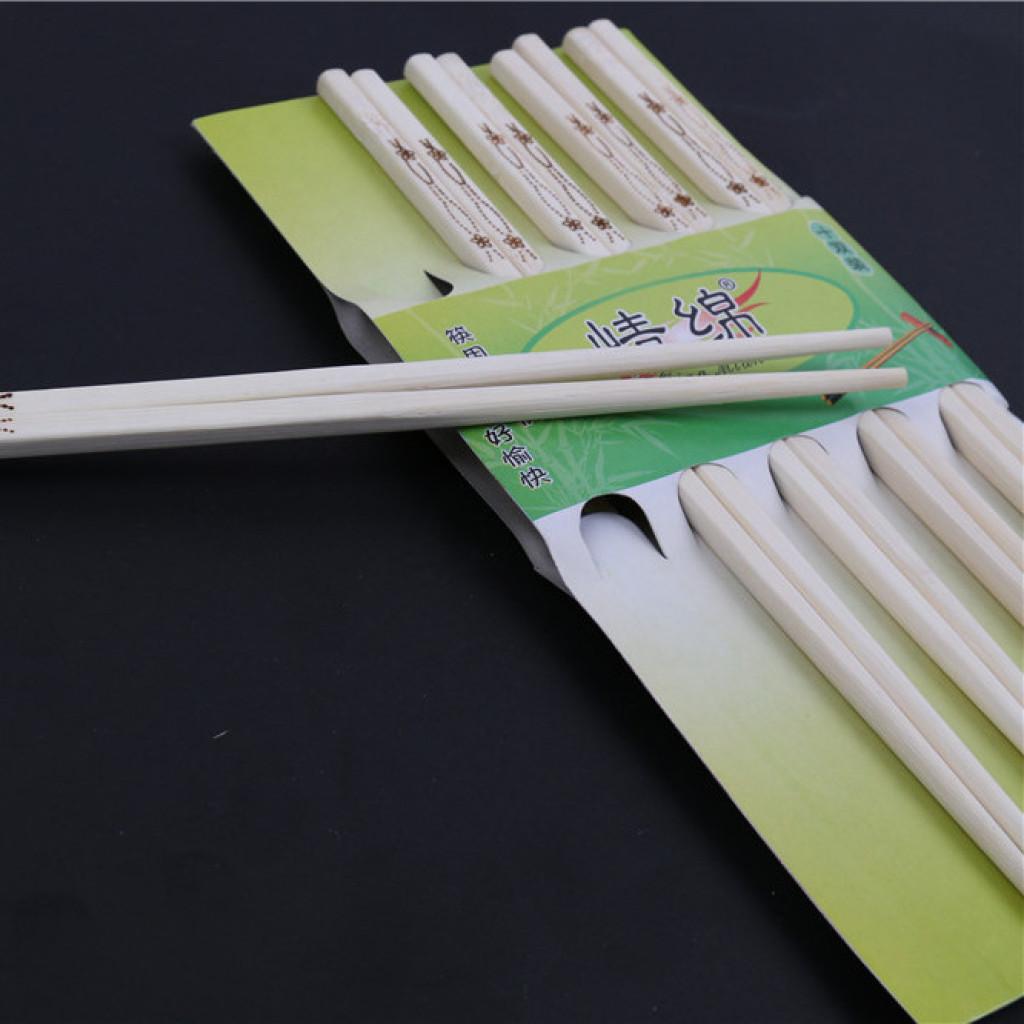 情绵烙花工艺筷子 花纹雕刻竹筷子家用环保筷子