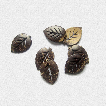 Natural coconut shell-like leaf-type hollow veins DIY designing clothing with decorated with creativity