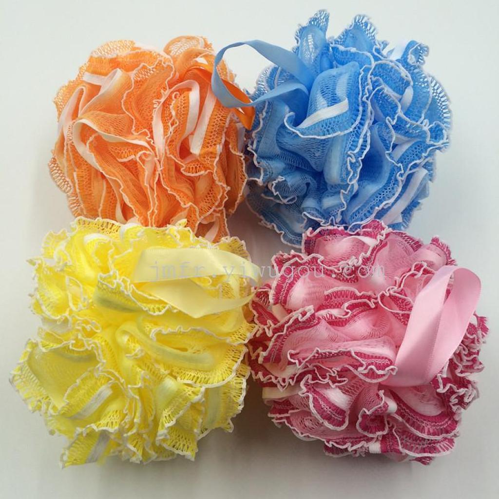 Supply Fungus Lace Bath Korea Ball Of High Grade Soap Flower