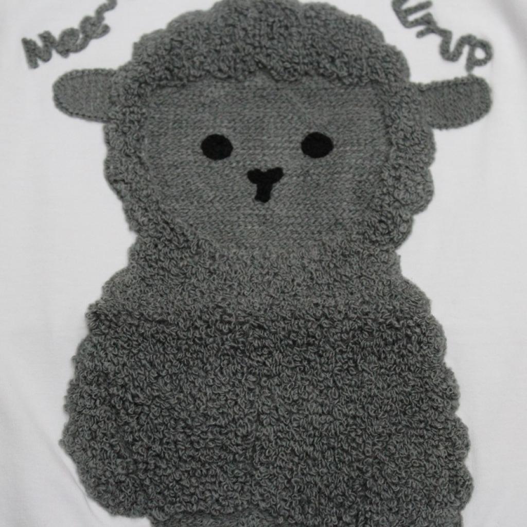 爆款 时尚小羊t恤 可爱纯色 男孩2-5岁