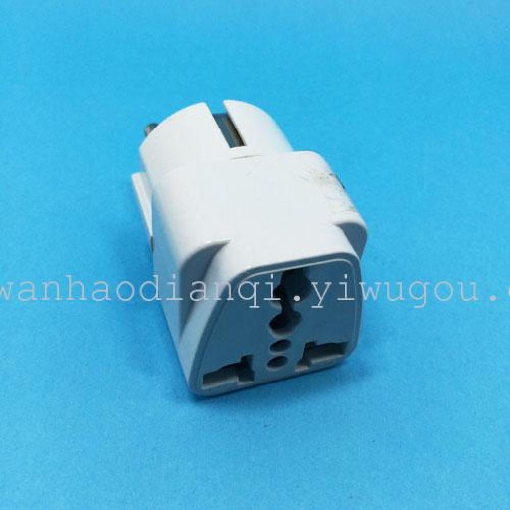 w&b万豪电器:16a欧式带地插式旅游多功能插头