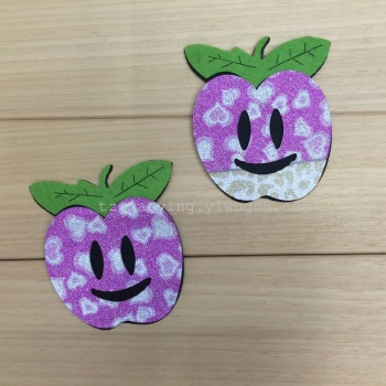 Manufacturers selling high quality Fridge Magnet fabric crafts cute non-woven handicraft non woven accessories