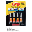 502 instant glue 4 PCs blister card glue adhesive and quick-drying glue